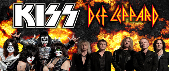 Kiss & Def Leppard at Pavilion at Montage Mountain