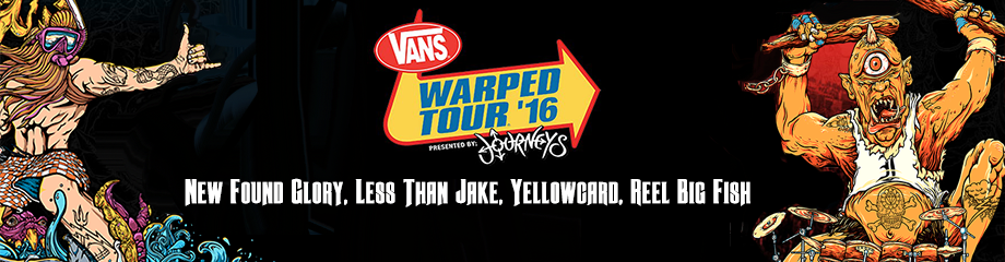 Vans Warped Tour at Pavilion at Montage Mountain
