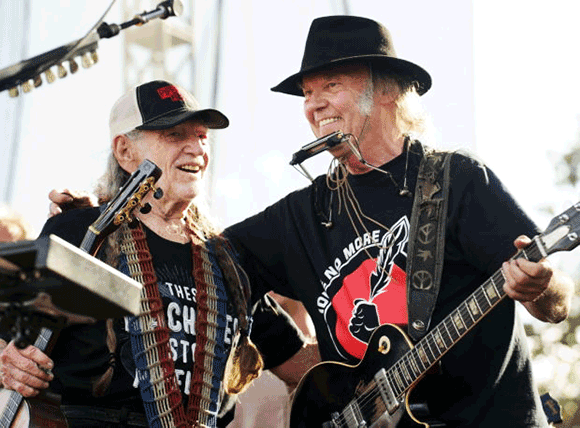 Outlaw Music Festival: Willie Nelson, Neil Young, Sheryl Crow & Lee Ann Womack at Pavilion at Montage Mountain