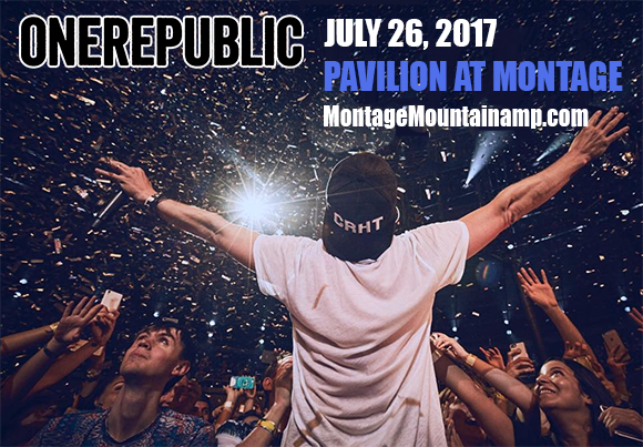 OneRepublic, Fitz and The Tantrums & James Arthur at Pavilion at Montage Mountain
