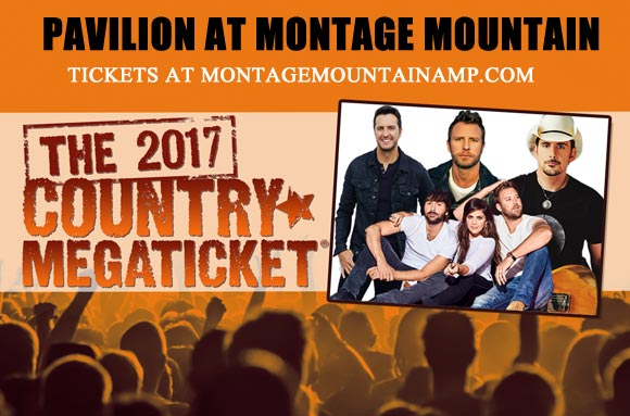 2017 Country Megaticket Tickets (Includes All Performances) at Pavilion at Montage Mountain