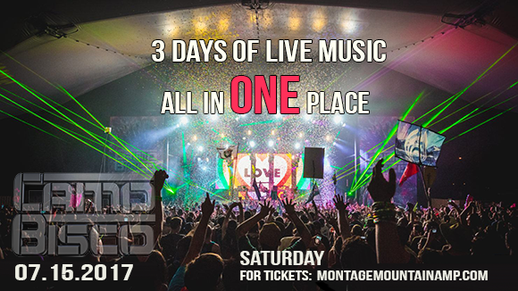 Camp Bisco - Saturday at Pavilion at Montage Mountain