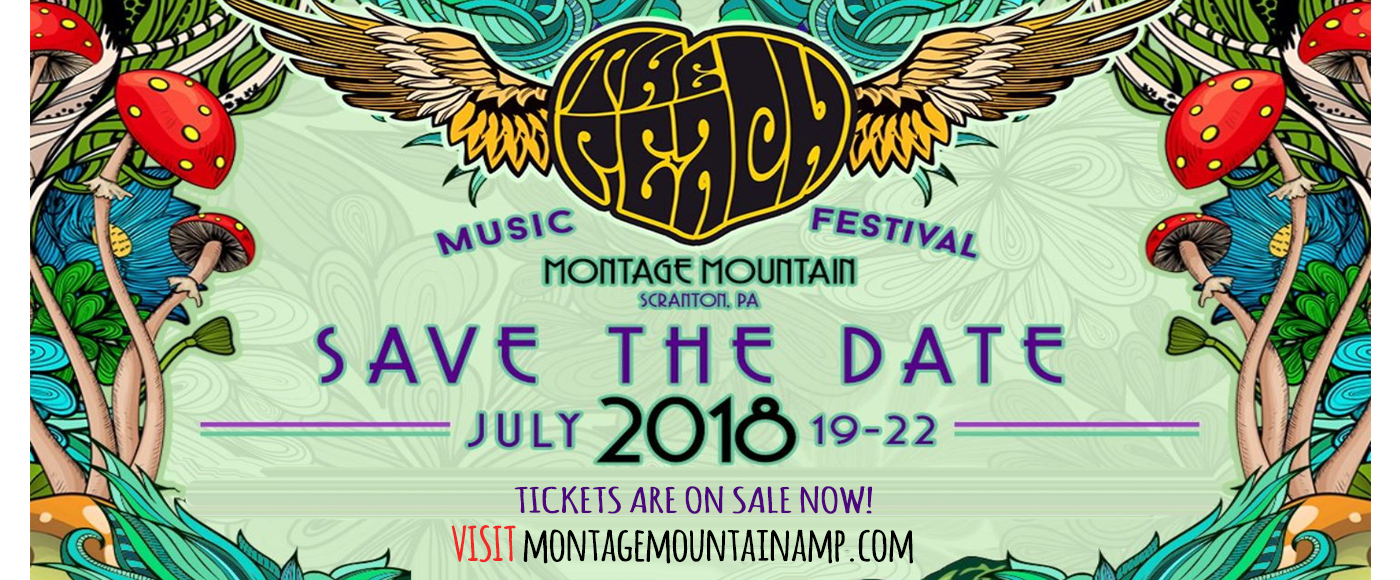The Peach Music Festival - Sunday Pass (Gate Time: TBD) at Pavilion at Montage Mountain