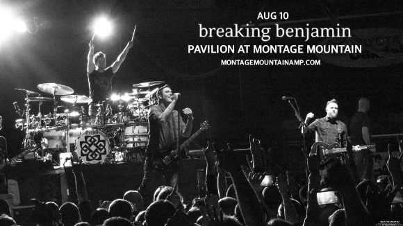 Breaking Benjamin, Chevelle & Three Days Grace at Pavilion at Montage Mountain
