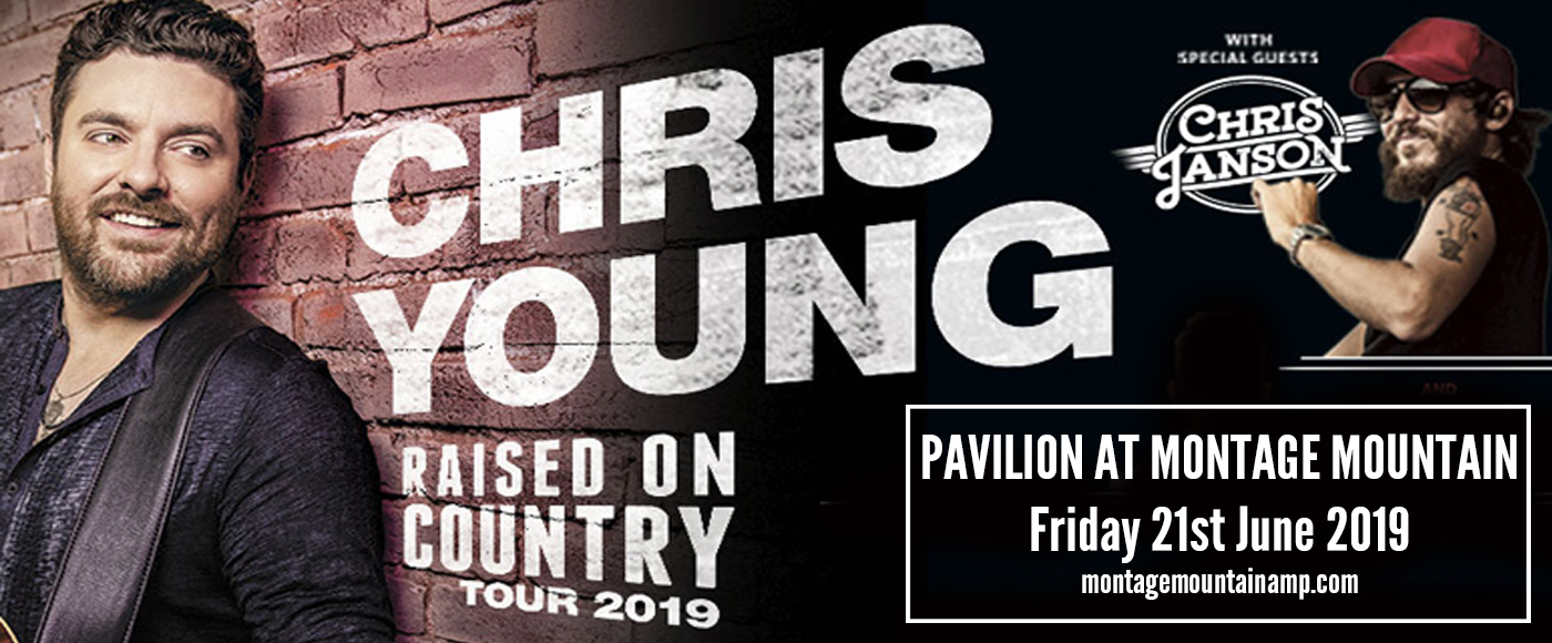 Chris Young & Chris Janson at Pavilion at Montage Mountain