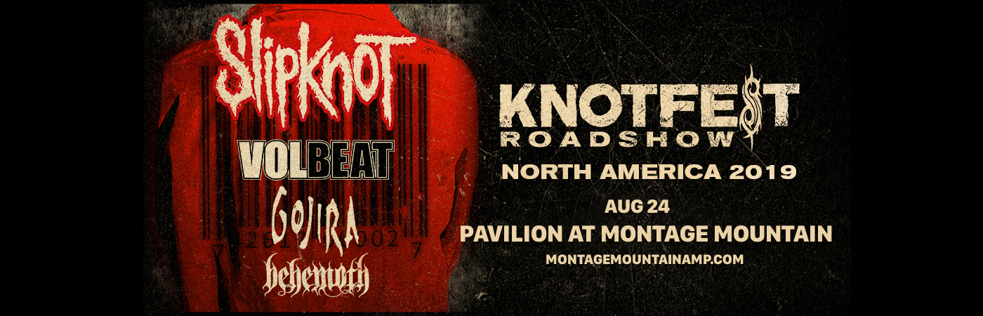 Slipknot, Volbeat, Gojira & Behemoth – The Pavilion at