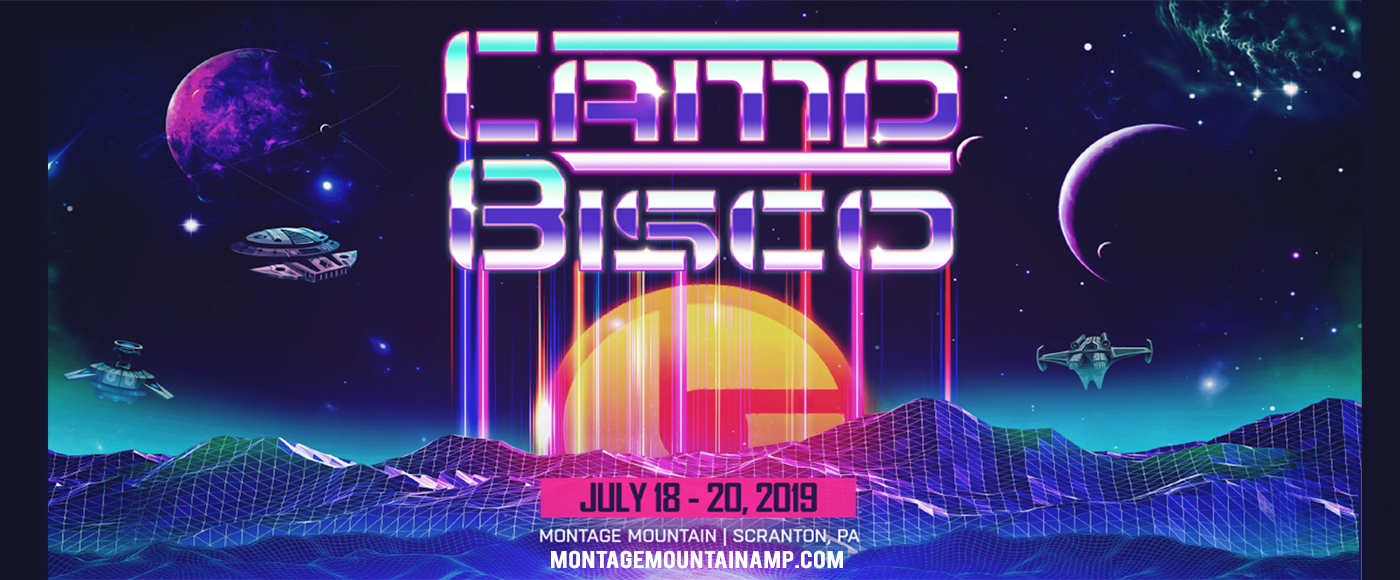 Camp Bisco - 3 Day Pass at Pavilion at Montage Mountain
