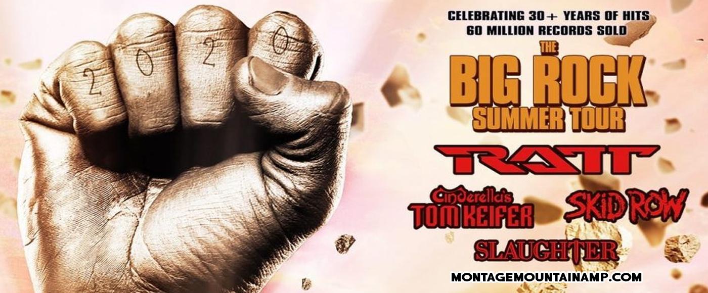 Big Rock Summer Tour: RATT, Tom Keifer, Skid Row & Slaughter at Pavilion at Montage Mountain