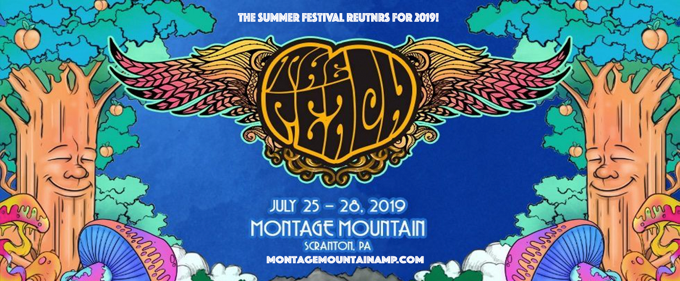The Peach Music Festival - Sunday at Pavilion at Montage Mountain