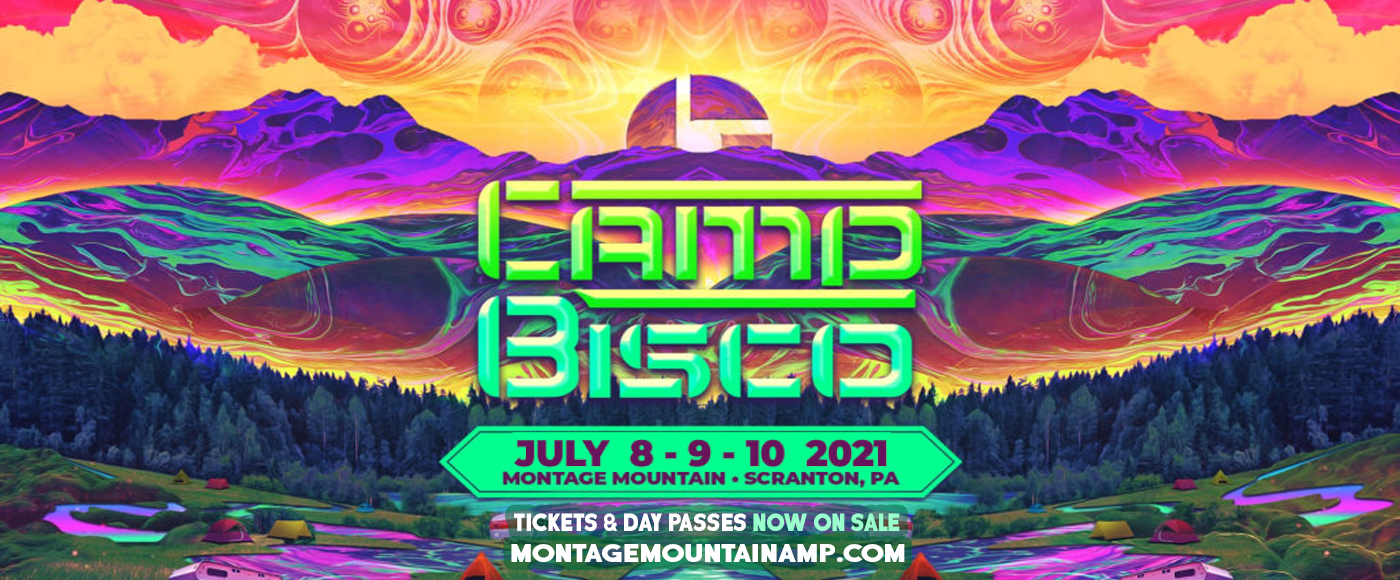 2020 Camp Bisco - 3 Day Pass at Pavilion at Montage Mountain