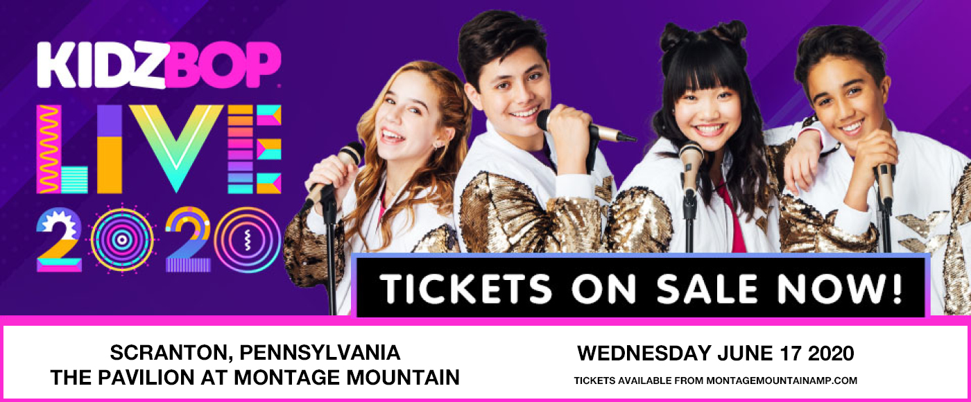 Kidz Bop Live [CANCELLED] at Pavilion at Montage Mountain