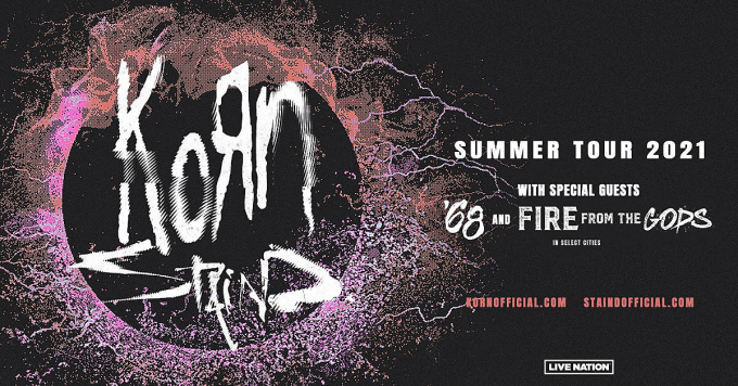 Korn & Staind at Pavilion at Montage Mountain